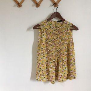 Zara sleeveless summer blouse